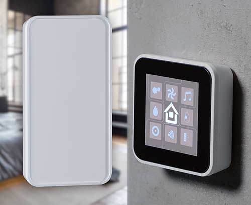 SMART-PANEL wall mount enclosures for control units.