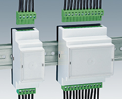 Connections to DIN Rail Enclosures