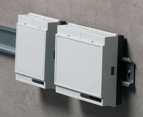 RAILTEC B - Low Profile DIN Rail Enclosures
