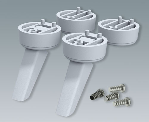 Universal Feet Kits for plastic and metal enclosures