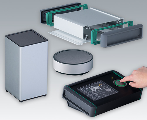 Aluminum Enclosures Range