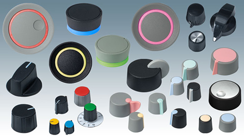 Award-winning Control Knobs for Electronics