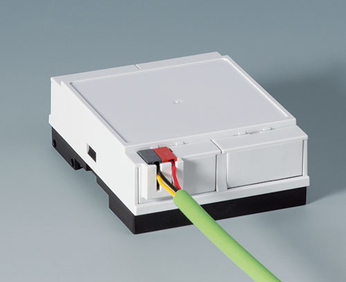 New KNX Cover For RAILTEC B DIN Rail Enclosures