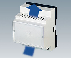 Ventilated DIN Rail Enclosures