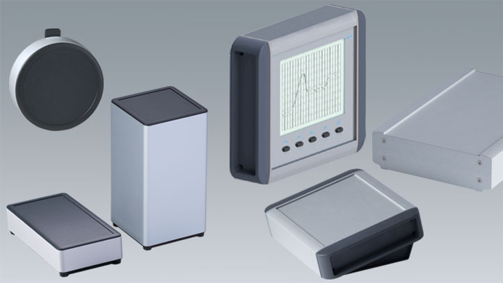 Aluminum enclosures OKW