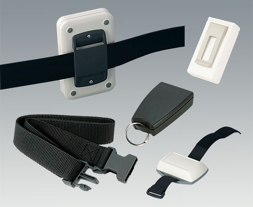Accessories for carrying enclosures