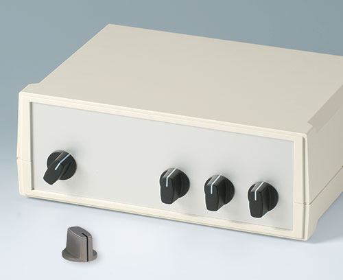 Spindle-shaped knobs