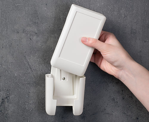 DATEC-COMPACT with wall holder