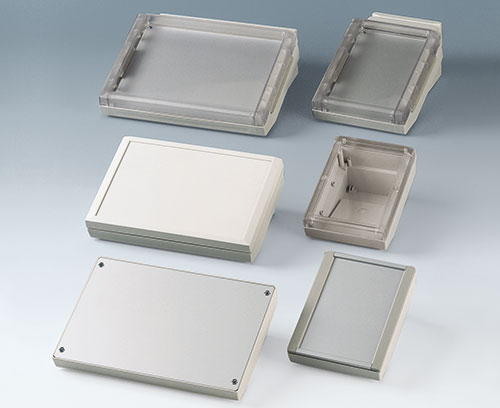 Ergonomic table top enclosures