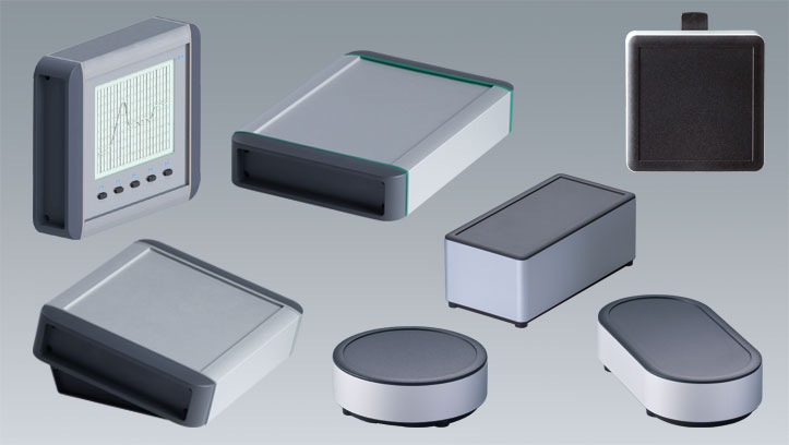 Extruded aluminum enclosures OKW