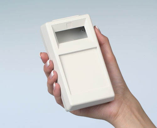 Handheld enclosures for measuring instruments