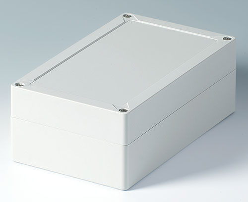 Solid enclosure in ABS (UL 94 HB)