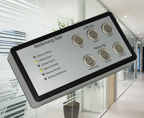 Individual room control panels