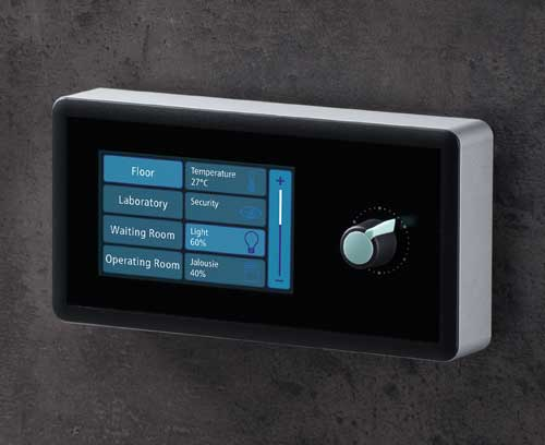 SYNERGY enclosure with touch screen