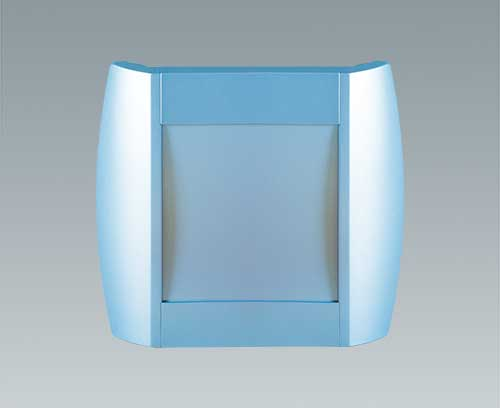 DIATEC enclosure lacquered blue