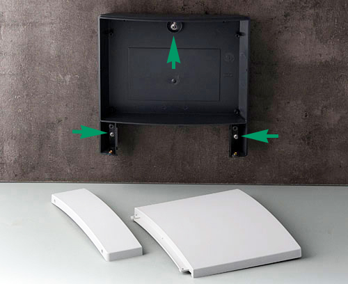 New Version II Net-Box pre-drilled for wall mounting