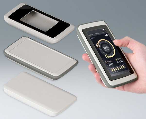 SLIM-CASE designer handheld enclosures for touchscreens or keypads