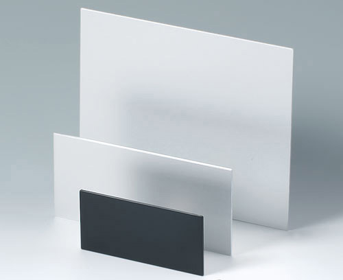 Individual sizes and shapes of plastic and aluminum panels