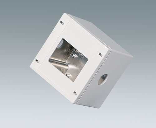 SNAPTEC enclosure with aluminum coating and machining