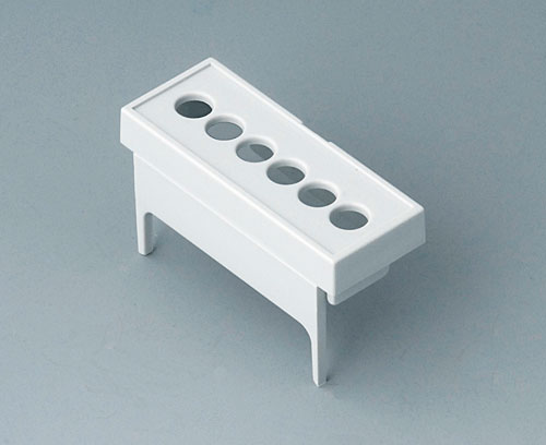 B6801113 Terminal guards, with holes, 5.08 mm