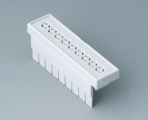 B6802112 Terminal guards, perforated, 5.08 mm