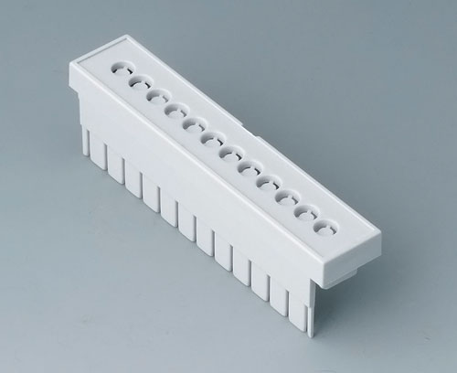 B6803112 Terminal guards, perforated, 5.08 mm