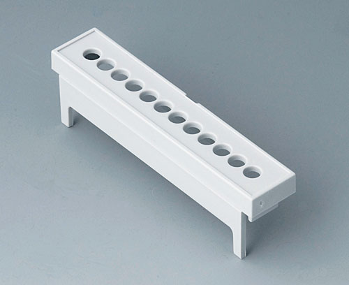 B6803113 Terminal guards, with holes, 5.08 mm