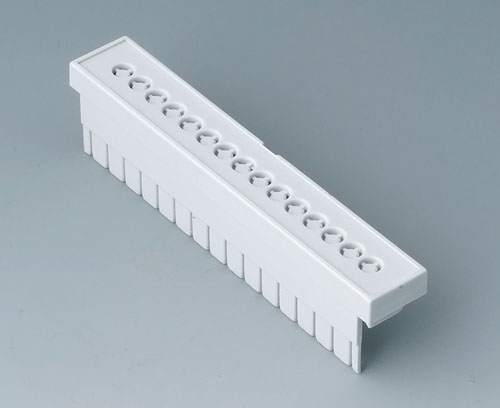 B6804112 Terminal guards, perforated, 5.08 mm