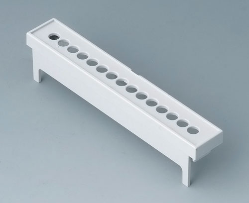 B6804113 Terminal guards, with holes, 5.08 mm