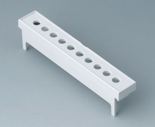 B6804114 Terminal guards, with holes, 7.5 mm & 7.62 mm