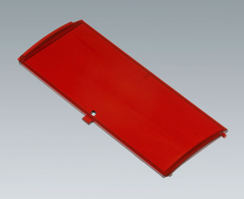 B6805302 Front lid convex with hinge, 6 modules