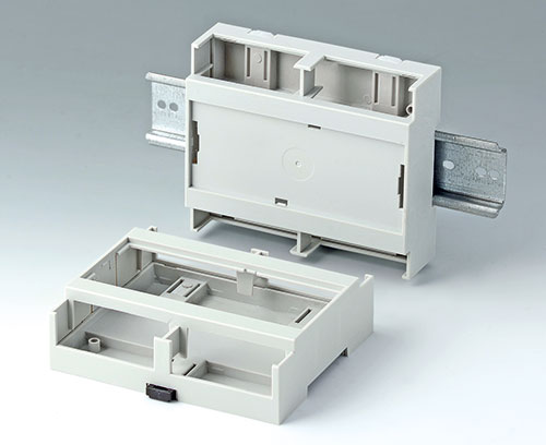 RAILTEC C, 6 modules with flat top part