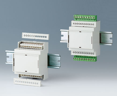 RAILTEC C with terminal blocks / plug headers (acc.)