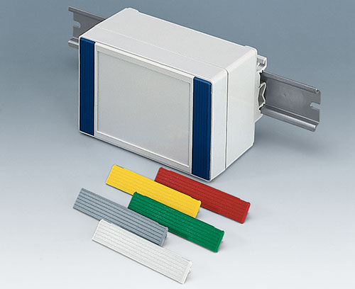 ROBUST-BOX as a DIN rail enclosure