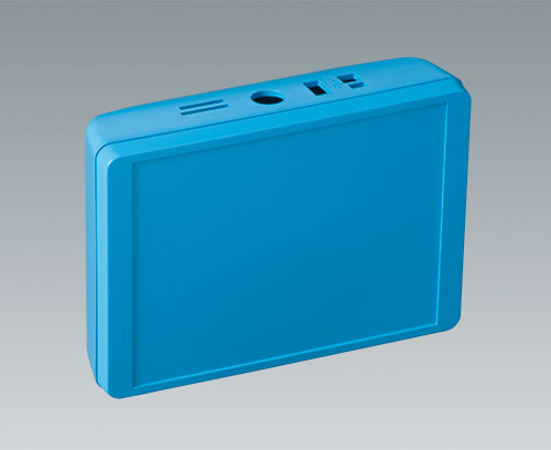 INTERFACE-TERMINAL enclosure made in color blue