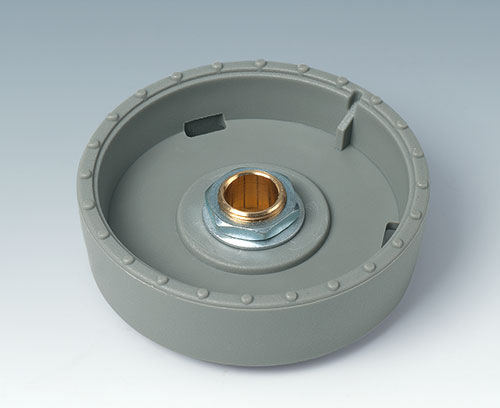 Tried and tested collet fixture system with secure fit on the axle