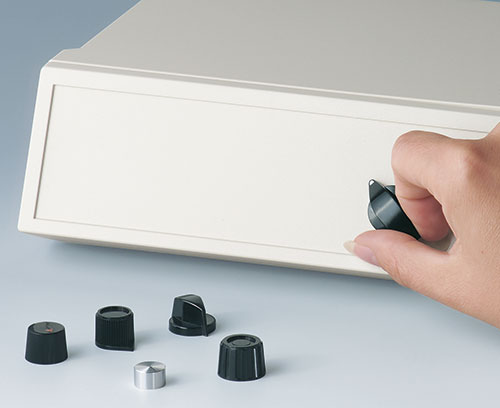 tuning knobs with and without indicator