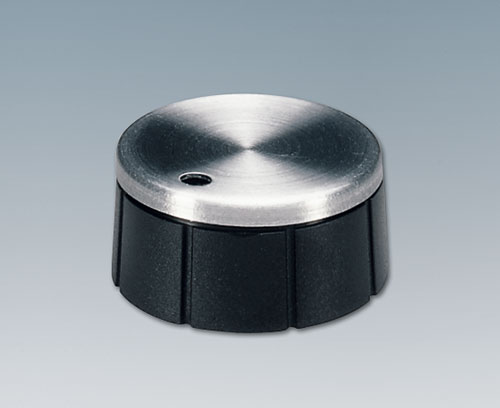 Tuning knob with embellisher cap