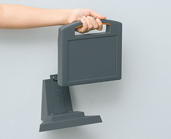 Carrytec enclosures with charging stations