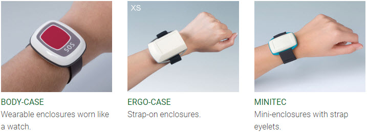 wearable handheld enclosures