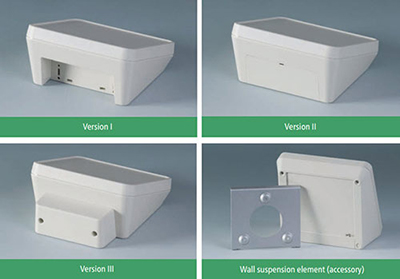 Protec enclosures in three versions