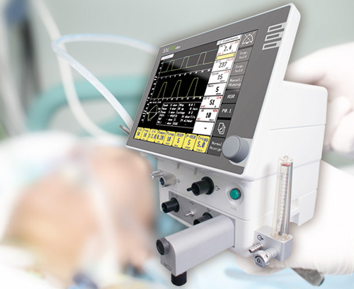 Tuning knobs for intensive care ventilators