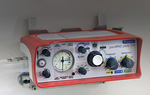 Smiths Medical ParaPAC Ventilator