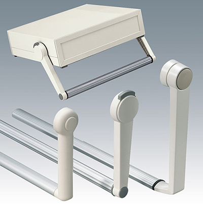 Handles for enclosures